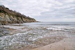 Maenporth strand - Cornwall Fotografering för Bildbyråer