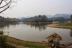 Maepern reservoir in chiangrai Thailand Royalty Free Stock Image