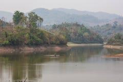 Maepern reservoir in chiangrai Thailand Stock Images