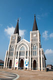 Maephra Patisonti Niramon教会, CHANTABURI,泰国 免版税库存图片
