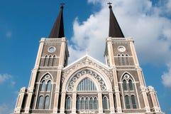Maephra Patisonti Niramon Church, CHANTABURI, THAILAND Royaltyfri Bild