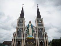 Maephra Patisonti Niramon kościół Fotografia Stock