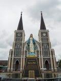 Maephra Patisonti Niramon kościół Obrazy Royalty Free