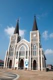 Maephra Patisonti Niramon kościół, CHANTABURI, TAJLANDIA Obraz Royalty Free