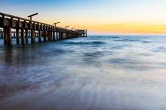 Maeramphueng hav på aftonen Royaltyfri Foto