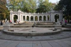 Maerchenbrunnen Berlin Stock Photos