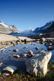 Maerjelensee in early morning. Royalty Free Stock Image