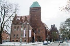 Maerkisches museum i Berlin Arkivfoton
