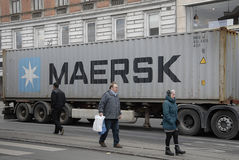 MAERSK CANTANA Stock Photography