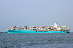Maersk container ship Royalty Free Stock Photo