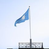 Maersk flagga Arkivfoton