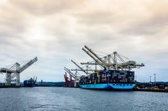 Maersk-Gruppen-Containerschiff lizenzfreies stockfoto