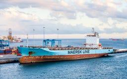 Maersk Patrasso fotografia stock libera da diritti