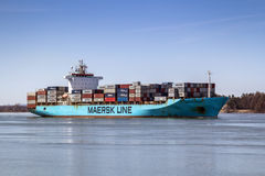 MAERSK PENANG container ship Royalty Free Stock Image