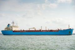 MAERSK-schip ROSYTH in de haven van Rotterdam Royalty-vrije Stock Afbeelding