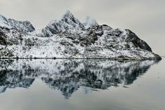 Maervoll, Vestvagoy, Lofoten wyspy -, Norwegia obraz royalty free