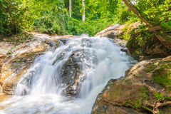 maesa Wasserfall an maerim chaingmai Nord-Thailand Stockfotografie
