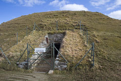 Maeshowe chambered cairn Royalty Free Stock Photos