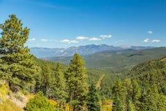 Maestas Ridge en el mejor camino a Taos Fotografía de archivo libre de regalías