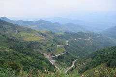 Maestoso del passaggio a HaGiang Vietnam 2016 Immagini Stock Libere da Diritti