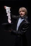Maestría consumada del mago foto de archivo libre de regalías