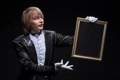 Maestría consumada del mago imagenes de archivo