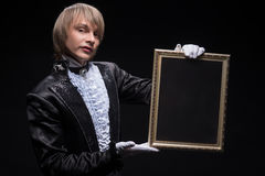 Maestría consumada del mago imagen de archivo libre de regalías