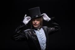 Maestría consumada del mago Fotos de archivo libres de regalías