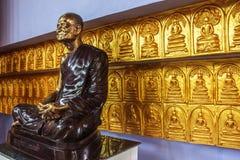 Maestro buddha. Image sit on the base Stock Photography