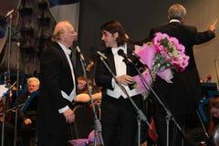 Maestro Giuseppe Dzhakomini σε Izmailovo 12.06.2010 Στοκ φωτογραφία με δικαίωμα ελεύθερης χρήσης