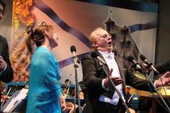 Maestro Giuseppe Dzhakomini σε Izmailovo 12.06.2010 Στοκ εικόνες με δικαίωμα ελεύθερης χρήσης