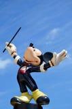 Maestroen Disney för den Mickey musen figurerar Fotografering för Bildbyråer