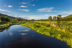 Maetha River. This river have name in country is Metha Stock Images