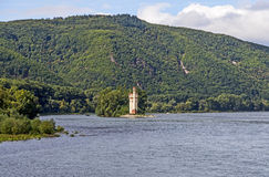 Maeuseturm in Bingen, Germany Royalty Free Stock Image