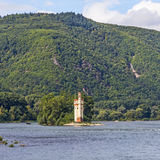 Maeuseturm in Bingen, Germany Royalty Free Stock Photography