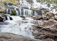Maeya Wasserfall in Thailand Lizenzfreies Stockbild