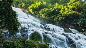 Maeya Wasserfall von chiangmai in Thailand Stockbilder