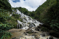 Maeya waterfall in Chiang Mai Stock Image
