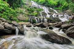 Maeya waterfall Royalty Free Stock Image