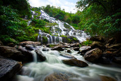 Maeya Waterfall Doi Inthanon National Park Stock Photos
