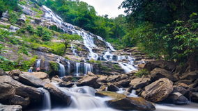 MAEYA Waterfall Famous Cascade Of Chiang Mai, Thailand stock video