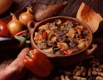 Maf  ,beef stew with peanuts Royalty Free Stock Image