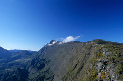 Mafate cirque from Maido, Reunion Island Stock Photography