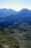 Mafate cirque from Maido, Reunion Island Stock Photos