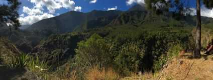 Mafate in Reunion Island Immagini Stock Libere da Diritti