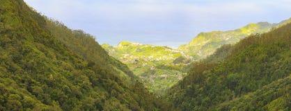Mafeira海岛,葡萄牙,欧洲美丽的景色  免版税图库摄影