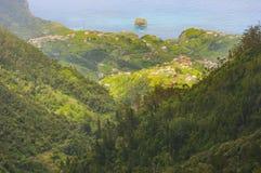 Mafeira海岛,葡萄牙,欧洲美丽的景色  库存照片