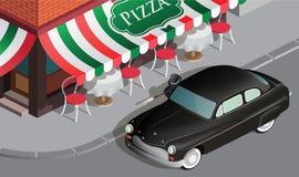 Mafia car Stock Image