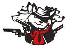 Mafia de zoo Image libre de droits