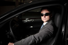 Mafia Driver Royalty Free Stock Images